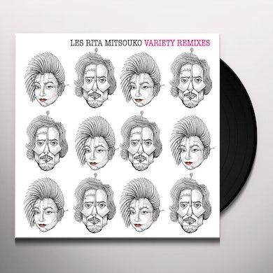 Les Rita Mitsouko VARIETY REMIXES Vinyl Record