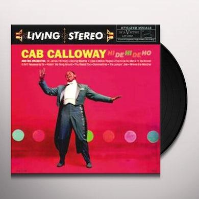 Cab Calloway HI DE HI DE HO Vinyl Record