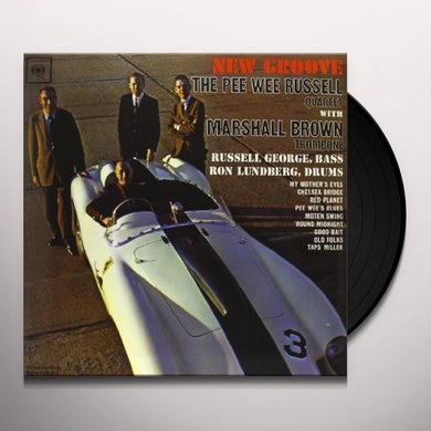 Pee Wee Russell NEW GROOVE Vinyl Record