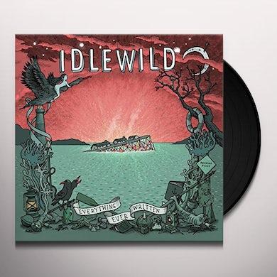 Idlewild EVERYTHING EVER WRITTEN Vinyl Record