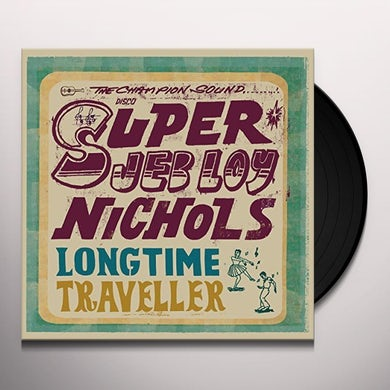 Jeb Loy Nichols LONG TIME TRAVELLER Vinyl Record