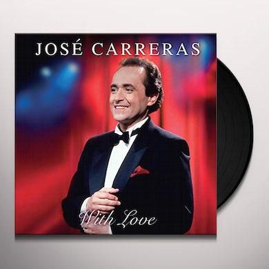 Jose Carreras WITH LOVE Vinyl Record