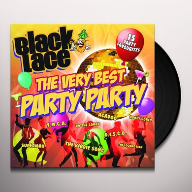 Black Lace VERY BEST PARTY PARTY Vinyl Record