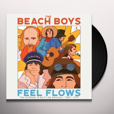 """""""Feel Flows"""" The Sunflower & Surf's Up Sessions 1969-1971 (4 LP) Vinyl Record"""