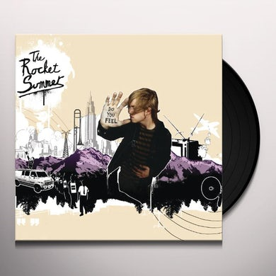 Rocket Summer DO YOU FEEL Vinyl Record