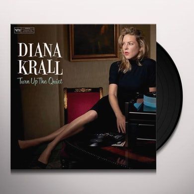 Diana Krall TURN UP THE QUIET Vinyl Record