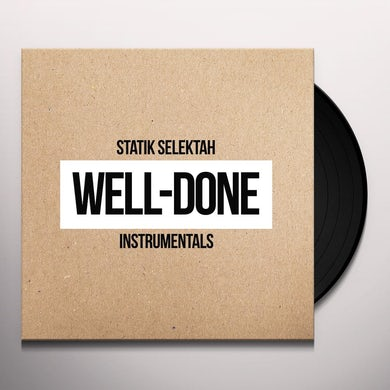 WELL DONE INSTRUMENTALS Vinyl Record
