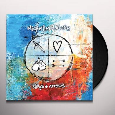 Michelle Malone SLINGS & ARROWS Vinyl Record