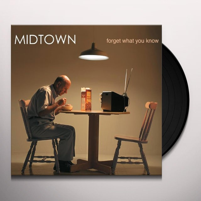 Midtown FORGET WHAT YOU KNOW Vinyl Record