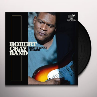 Robert Cray THAT'S WHAT I HEARD Vinyl Record