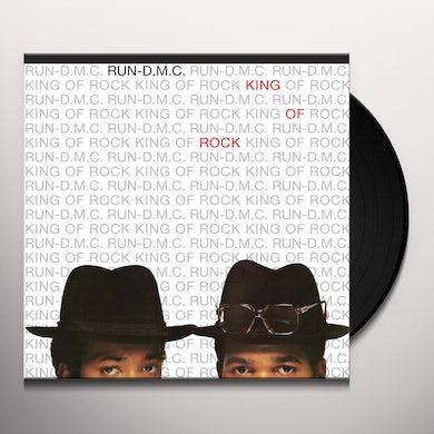 Run DMC KING OF ROCK Vinyl Record
