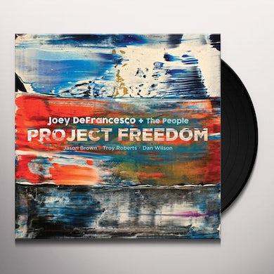 Joey Defrancesco PROJECT FREEDOM Vinyl Record