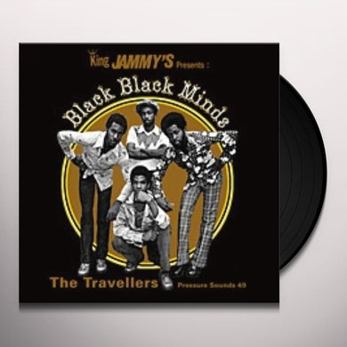 Travellers BLACK BLACK MINDS Vinyl Record