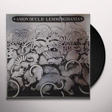 Amon Duul Ii LEMMINGMANIA Vinyl Record