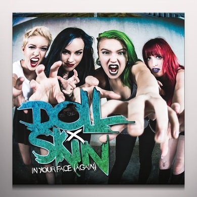 DOLL SKIN IN YOUR FACE (AGAIN) (PINK VINYL) Vinyl Record