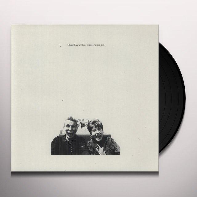 Chumbawamba I NEVER GAVE UP Vinyl Record