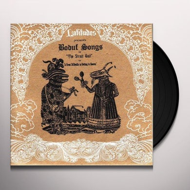 Boduf Songs STRAIT GAIT Vinyl Record