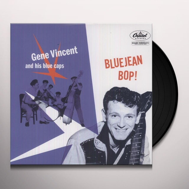 Gene Vincent & His Blue Caps BLUEJEAN BOP Vinyl Record