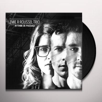 Emie R Trio Roussel RYTHME DE PASSAGE Vinyl Record