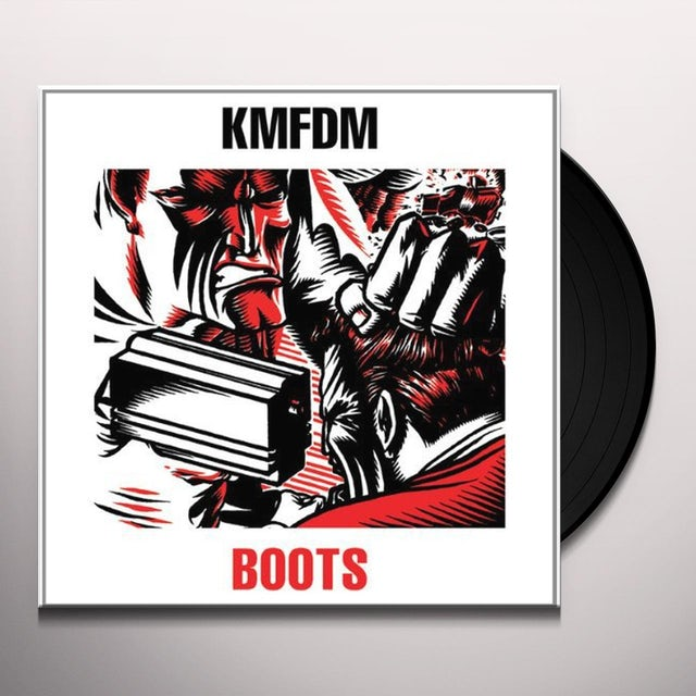 Kmfdm BOOTS Vinyl Record