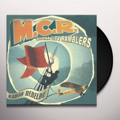 Modena City Ramblers RADIO REBELDE Vinyl Record