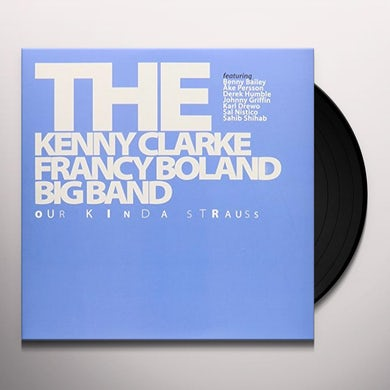 Kenny Clarke & Francy Boland OUR KINDA STRAUSS Vinyl Record