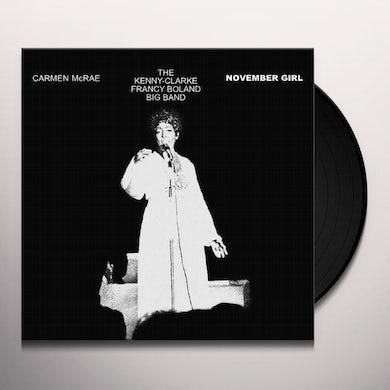 Carmen McRae NOVEMBER GIRL Vinyl Record