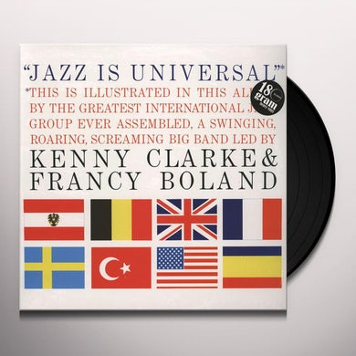 Kenny Clarke / Francy Big Band Boland JAZZ IS UNIVERSAL Vinyl Record