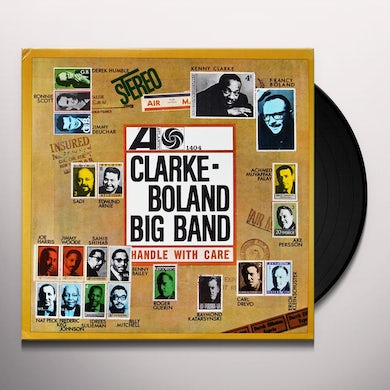 Kenny Clarke / Francy Big Band Boland HANDLE WITH CARE Vinyl Record