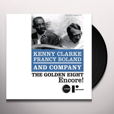Kenny Clarke & Francy Boland GOLDEN EIGHT-ENCORE Vinyl Record