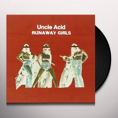 Uncle Acid & The Deadbeats RUNAWAY GIRLS Vinyl Record