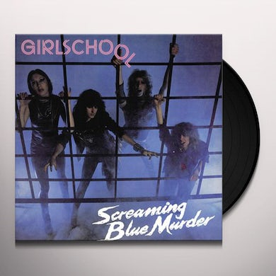 Girlschool SCREAMING BLUE MURDER - Limited Edition 140 Gram Colored Vinyl Record
