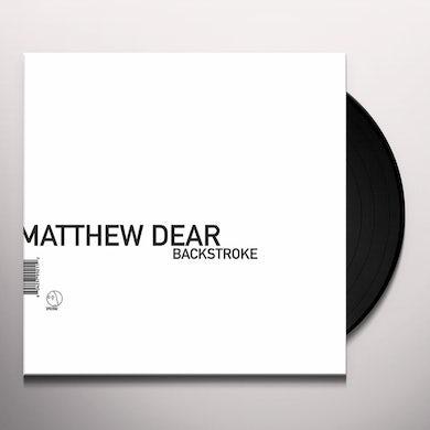 Matthew Dear BACKSTROKE Vinyl Record
