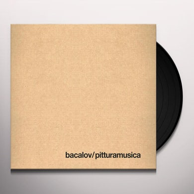 Luis Bacalov PITTURAMUSICA Vinyl Record