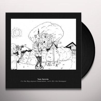 teen suicide IT'S THE BIG JOYOUS CELEBRATION LET'S STIR THE Vinyl Record