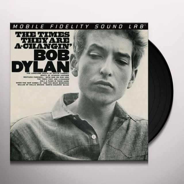 Bob Dylan TIMES THEY ARE A-CHANGIN Vinyl Record