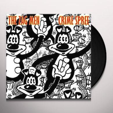 Zag Men CRIME SPREE Vinyl Record