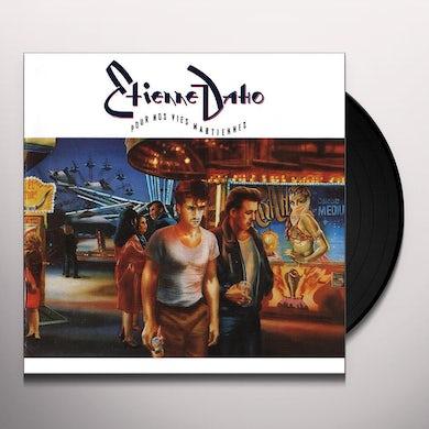 Etienne Daho POUR NOS VIES MARTIENNES Vinyl Record