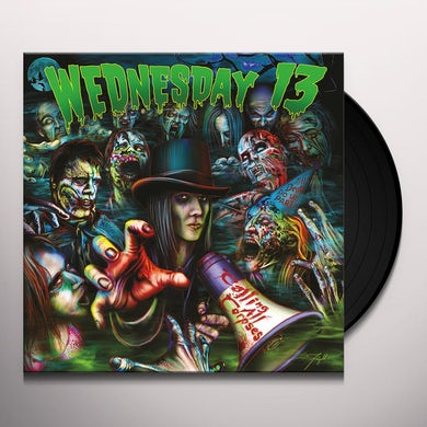 Wednesday 13 CALLING ALL CORPSES Vinyl Record