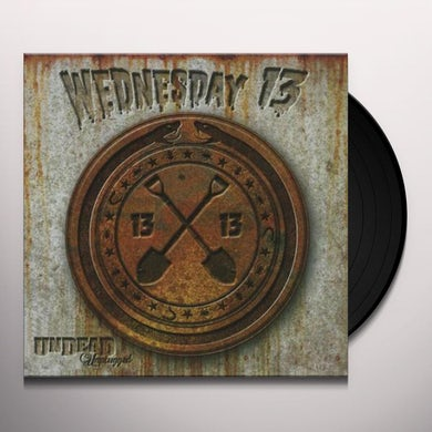 Wednesday 13 UNDEAD UNPLUGGED Vinyl Record