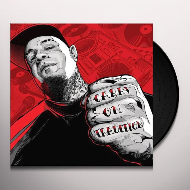 Vinnie Paz CARRY ON TRADITION Vinyl Record
