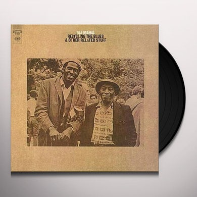 Taj Mahal RECYCLING THE BLUES & OTHER RELATED STUFF Vinyl Record