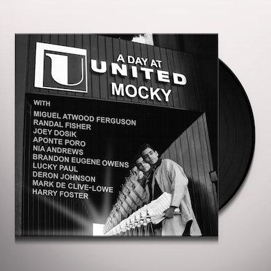 Mocky DAY AT UNITED Vinyl Record