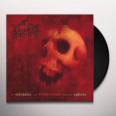 Lunar Aurora OF STARGATES & BLOODSTAINED Vinyl Record