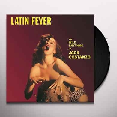 Jack Costanzo LATIN FEVER Vinyl Record