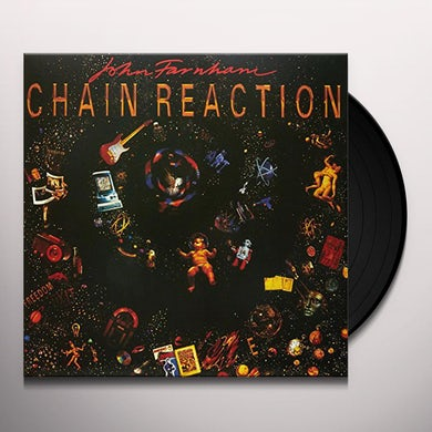 John Farnham CHAIN REACTION Vinyl Record