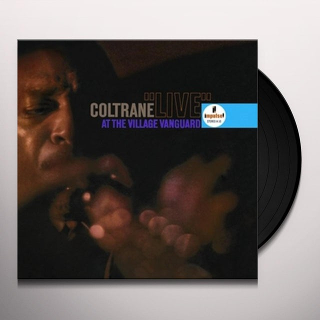 John Coltrane LIVE AT THE VILLAGE VANGUARD Vinyl Record - 180 Gram Pressing