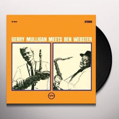 Gerry Mulligan MEETS BEN WEBSTER Vinyl Record