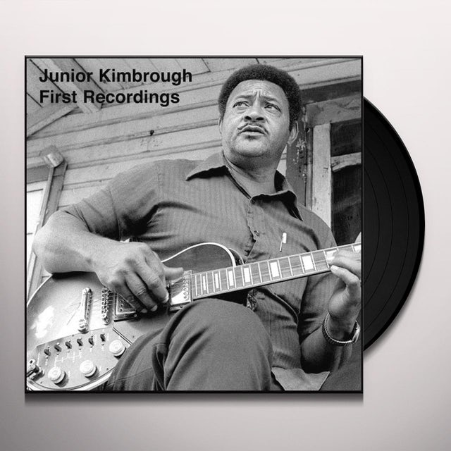Junior Kinbrough FIRST RECORDINGS Vinyl Record