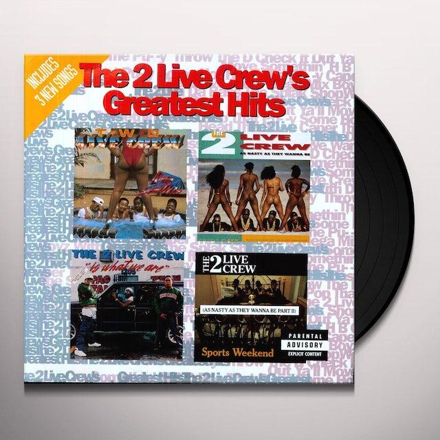 2 Live Crew GREATEST HITS Vinyl Record